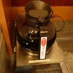 バーミヤン - ドリンクバーの1部コーヒー