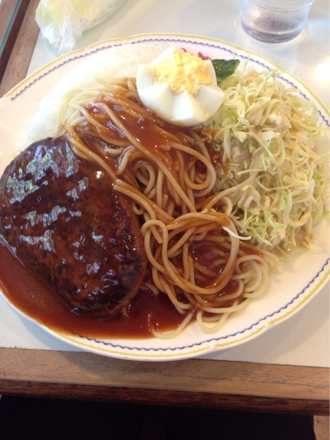ダッカ - ハンバーグランチ♪ 800円