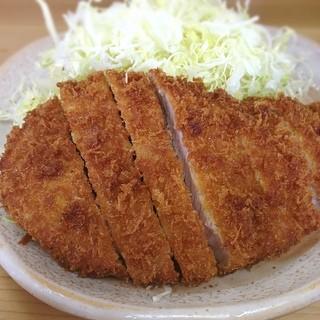 とんかつ いもや 二丁目店  - がっつり食べました〜(*^_^*)