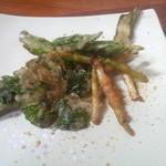 サクラダイニング - 料理写真:セットの山菜の天ぷら