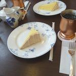 18935581 - デザ-トシフォン、アイスコーヒー