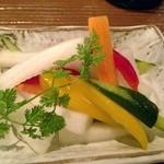 18938245 - 6種野菜のピクルス(¥400)