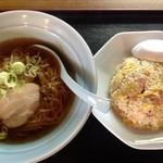 中華料理 福沢 - ランチ(炒飯+ラーメンセッット)580円