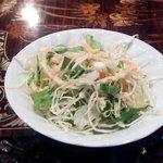 インド料理モハン - ランチサラダ(2013.4)