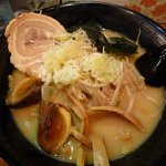 北海道ラーメン信源 - 味噌ラーメン+味玉
