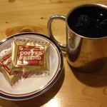 コメダ珈琲店 - アイスコーヒー;コーヒーフレンドが2袋付く