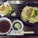 讃岐屋 雅次郎 - 海老天ひやつけ ¥890