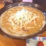 麺匠 玄龍 - 味噌らーめん 780円