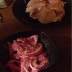 炭火焼肉処じゅうじゅう - 軟骨と鶏もも肉