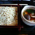 胡桃亭 - 【鴨汁せいろ蕎麦…1,650円】2013/5