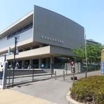 ラー・エ・ミクニ - 近代美術館の2Fにあります