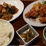 CHINESE DINING 凍頂山 - 日替わり定食850円