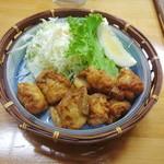 彩鶏 - ホルモンから揚げ