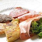 トラットリア ブーカ・ジュンタ - 前菜盛り合わせ