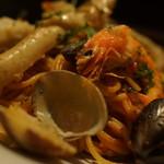18949572 - エビ、カニ、魚貝のペスカトーレ