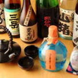 日本各地の美味しい焼酎を