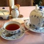 ティーサロン・コペン - 2013年5月ランチセットの紅茶は、ブレンドです♫