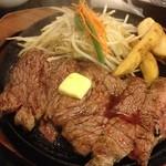 肉のはせ川 - メガステーキ