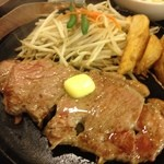 肉のはせ川 - サーロインステーキ
