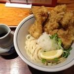 野らぼー - 鶏天おろしうどん(780円)