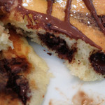 ツインリバーカフェアンドキッチン - ホットチョコレートパンケーキ