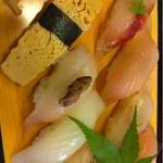 18956871 - 地魚握り寿司2000円