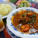 インド料理 ガンディ2 - スープカレーセット