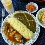 インド料理 ガンディ2 - NEW!ヒマラヤスペシャル 2色のWカレー