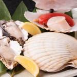 鉄板焼 ろじ - 市場で直接目利きして買い付ける新鮮な魚介