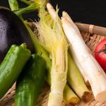 鉄板焼 ろじ - 野菜も国産の物にこだわっています