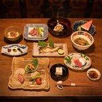 丹波谷 かくりゅう - おばんざいコース 7,000円