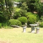遊鹿里茶屋 - 店内から見た庭