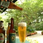 Cafe Restaurant AUREOLE - 夕涼みをしながらテラスでビールを