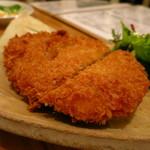鳥缶キッチン - 豚メンチカツ260円