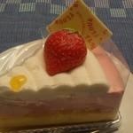 18962704 - ストロベリーのムース系ケーキ