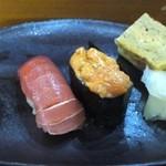 鮨司 吉竹 - 目鉢・うに・卵