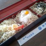 そば源 - 料理写真:三宝そば900円