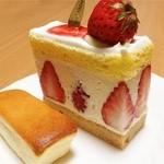 パティスリー菓欒 - 紅ほっぺ【367円】西賀茂チーズ【94円】
