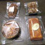 18965401 - 購入した焼き菓子たち♪
