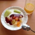 レストランロータス - 朝ご飯の仕上げ