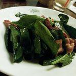 18966059 - ほうれん草とベーコンのサラダ