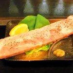 もんじゃ焼 うーちゃん - 厚切りベーコン