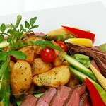 マルミキフーズお届けビュッフェ - 焼野菜とローストビーフ レギュラー3,000円 スモール1,800円