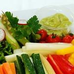 マルミキフーズお届けビュッフェ - スティック野菜アボカドソース レギュラー2,800円 スモール1,600円