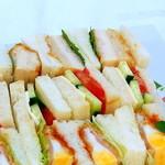 マルミキフーズお届けビュッフェ - サンドウィッチ レギュラー2,000円 スモール1,200円