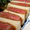 Dハートマン - 料理写真:熟成牛肉のカツサンド(この日は松阪牛)