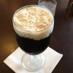 珈琲屋 ケンブレンド - アイスコーヒーは、混ぜずにそのまま飲んでとのこと。 うん、美味しい‼