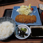 志な乃亭 - 志なのや@トンカツ定食 680円