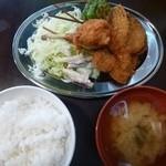 串マツ - 2013.05ランチセット(500円)