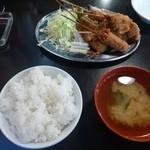 串マツ - 2013.05ランチLセット(690円)